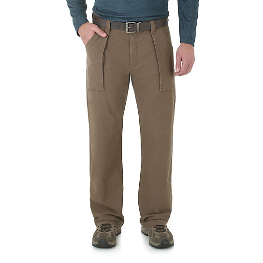 Wrangler Rugged Wear® All-Terrain Ridgetracker Flannel Lined Pant (Big Sizes)
