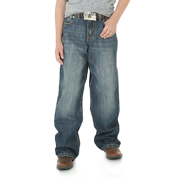 Boy's Wrangler® 20X® No. 33 Extreme Relaxed Fit Jean (8-18)