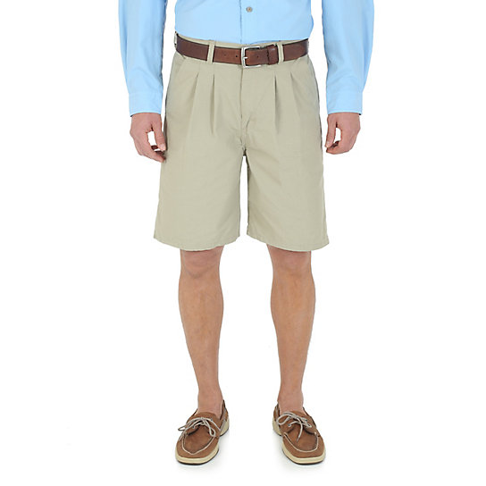Wrangler Rugged Wear® Relaxed Fit Khaki Angler Short (Extended Sizes)