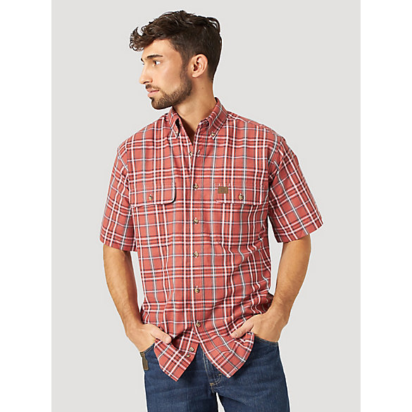 Wrangler® RIGGS Workwear® Plaid Work Shirt