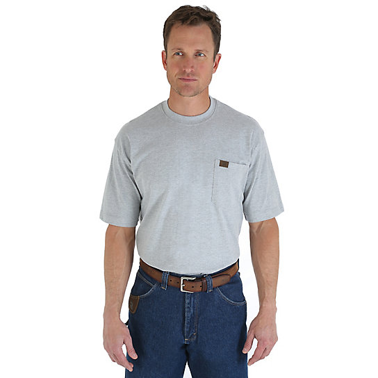Wrangler® RIGGS Workwear® Short Sleeve Pocket T-Shirt (Big & Tall Sizes)