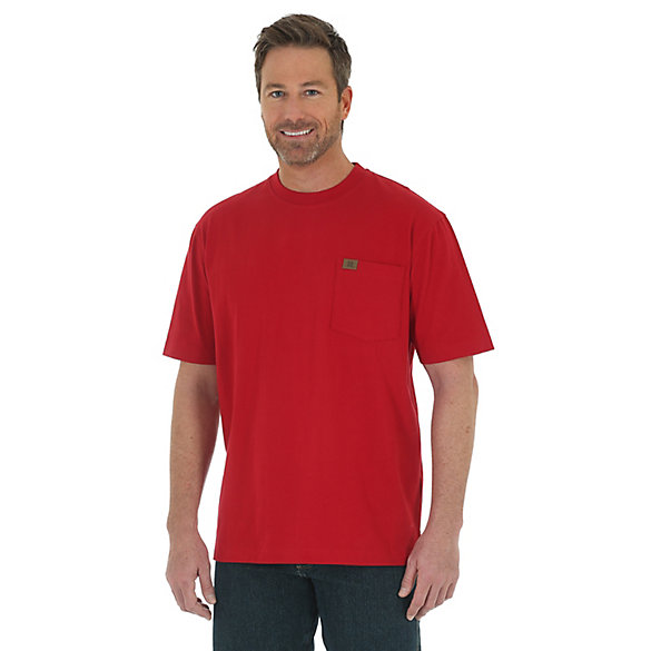 Wrangler® RIGGS Workwear® Short Sleeve Pocket T-Shirt