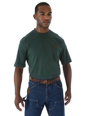 Wrangler 174 Riggs Workwear 174 Short Sleeve Pocket T Shirt