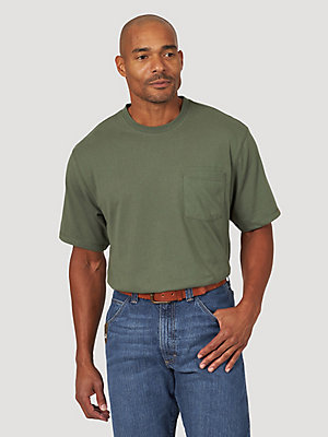 Wrangler® RIGGS Workwear® Short Sleeve 1 Pocket Performance T-Shirt