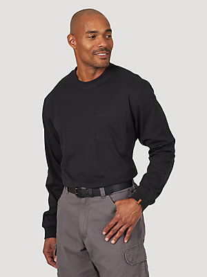 Wrangler® RIGGS Workwear® Long Sleeve 1 Pocket Performance T-Shirt
