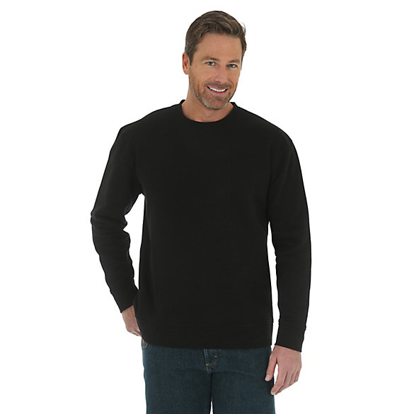 Men's Wrangler® RIGGS Workwear® Crew Neck Solid Sweatshirt (Big Sizes)
