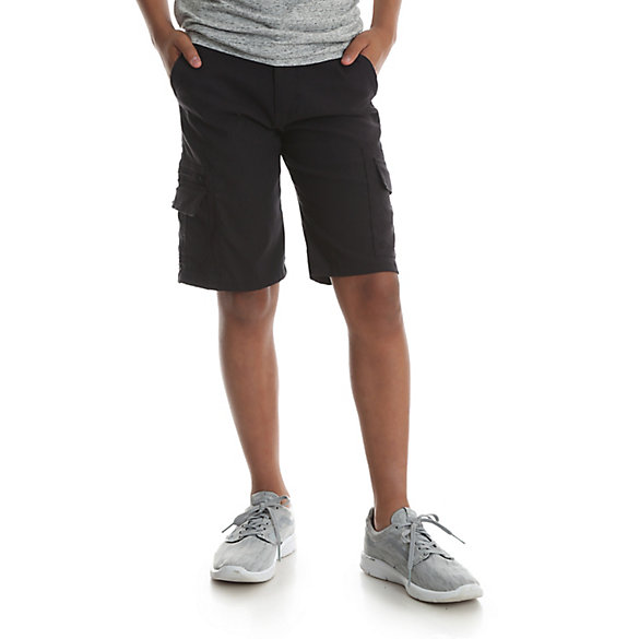 Boy's Outdoor Cargo Short with Zip Pocket (4-7)