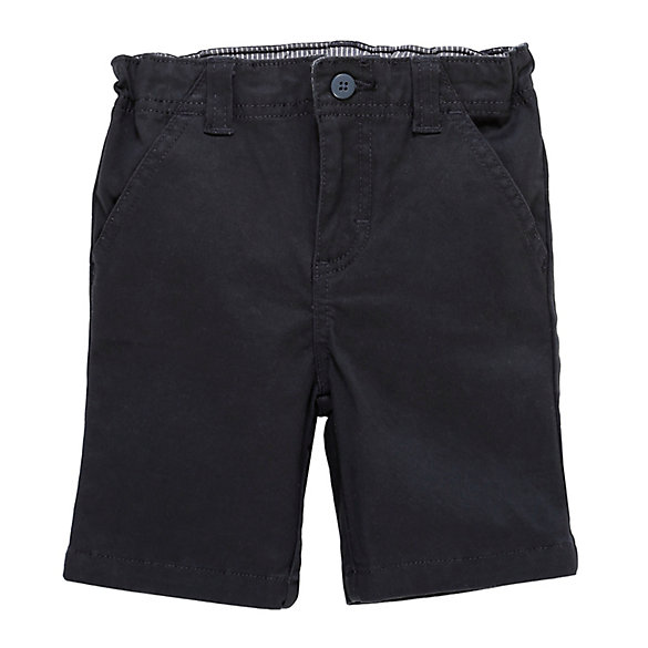 Toddler Boy Flat Front Short