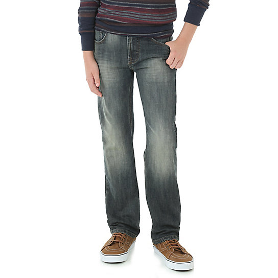 Boy's Wrangler Jeans Co.® Premium Slim Fit Jean (4-7)