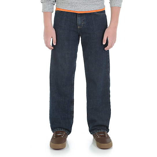 Boy's Wrangler® Five Star Loose Fit Jean (Husky)
