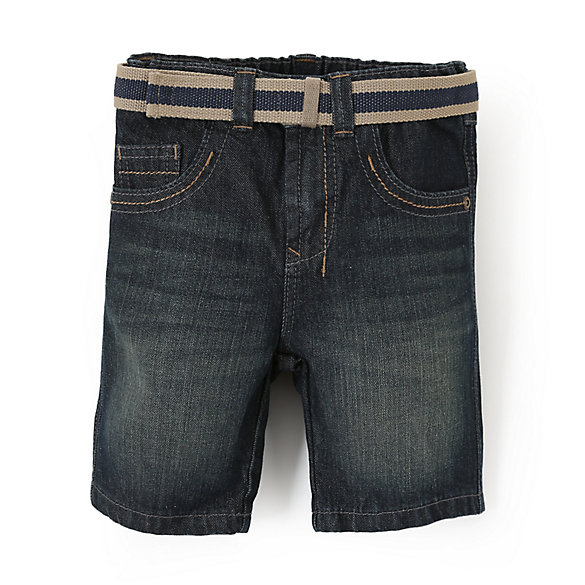 Boy's Premium Slim Straight Short - Blue Spruce (2T-5T)
