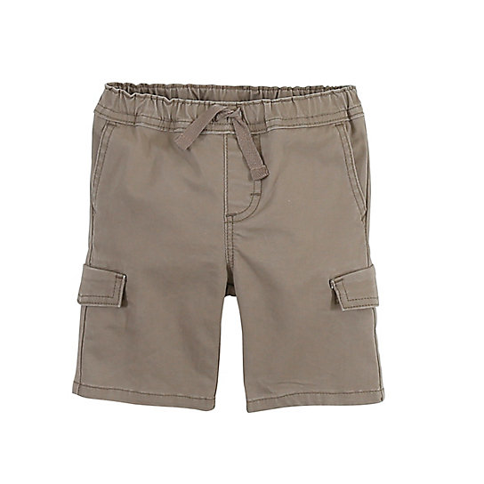 Boy's Cargo Short with 4-Way Flex (2T-5T)