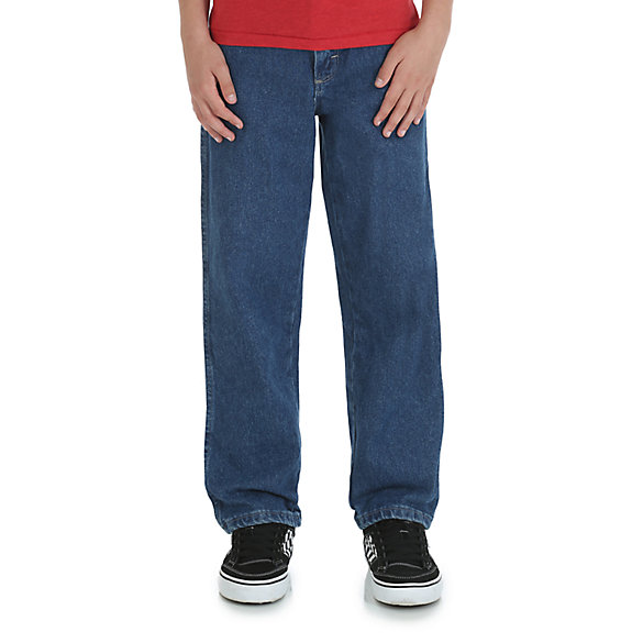 Boy's Rustler® by Wrangler® Relaxed Fit Jean (8-16)