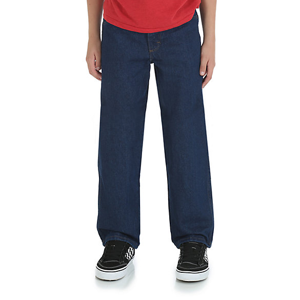 Boy's Rustler® by Wrangler® Relaxed Fit Jean (Husky)