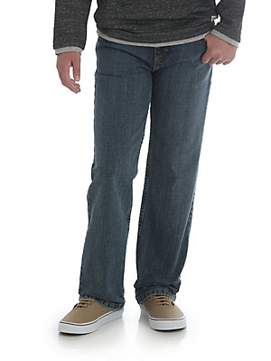 Boy's Wrangler® Five Star Classic Straight Fit Jean (Husky)