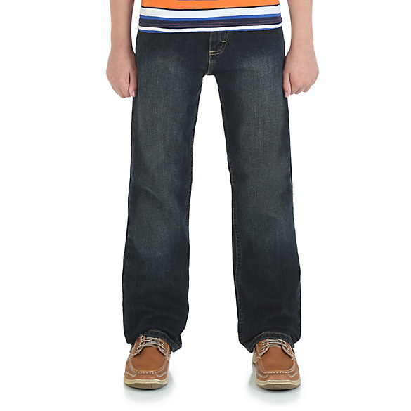Boy's Wrangler® Five Star  Classic Straight Fit Jean (4-7)