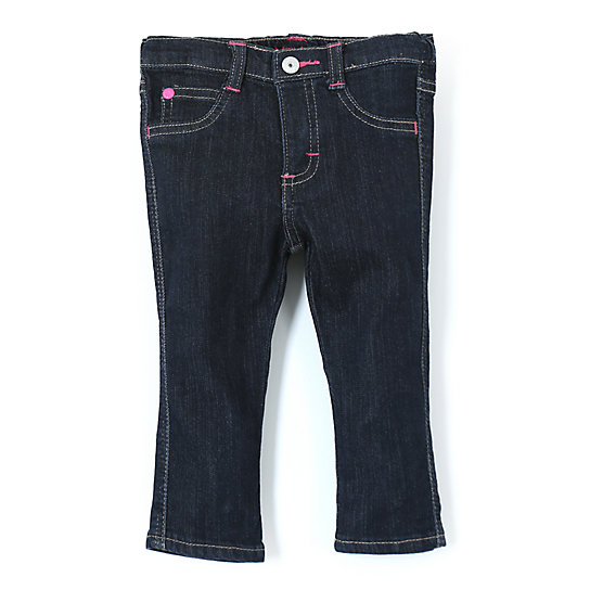 Wrangler® Baby Girl Skinny Jean Dark Alloy - Infant