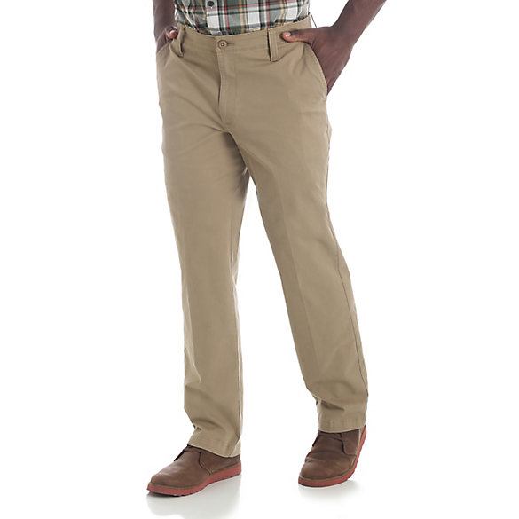 Men's Straight Fit Chino Pant (Big and Tall Sizes)