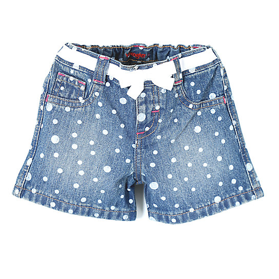 Wrangler® Baby Girl Short High Low Dot - Infant