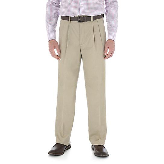 Wrangleru00ae Advanced Comfort Business Casual Pleated Pant | Mens Pants By Wrangleru00ae