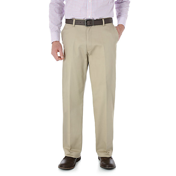 Wrangler® Advanced Comfort Business Casual Flat Front Pant