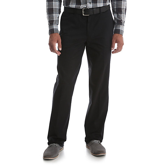 Men's No Iron Ultimate Khaki Pant (Big and Tall Sizes)