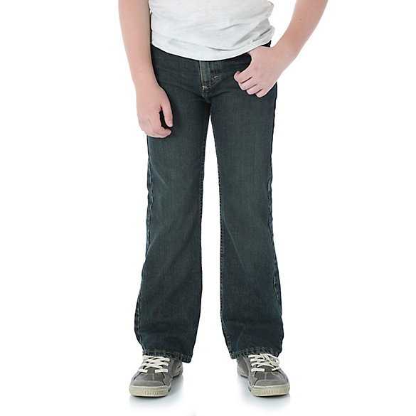 Boy's Wrangler Five Star® Relaxed Boot Cut Jean (8-16)