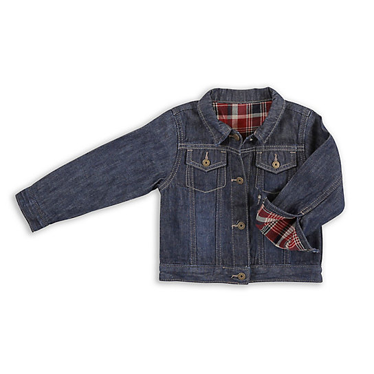 Boy's Classic Lined Denim Jacket