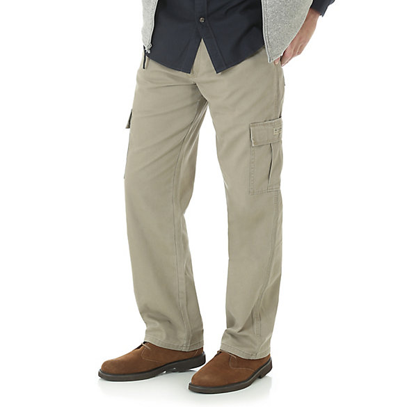 Men's Flannel Lined Cargo Pant