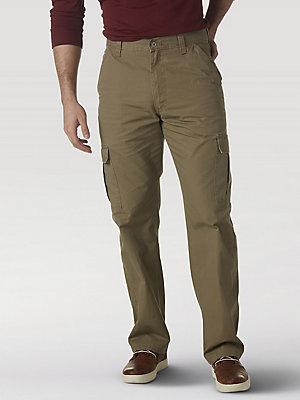 Men/'s Cargo Trousers Pants 38//34 Lightweight Brown-Branded