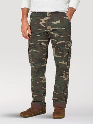Men/'s Fleece lined Camoflauge hunting pants