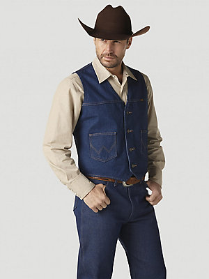 Wrangler® Unlined Denim Vest