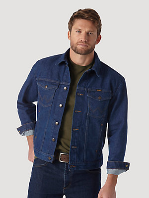 Wrangler® Cowboy Cut® Unlined Denim Jacket