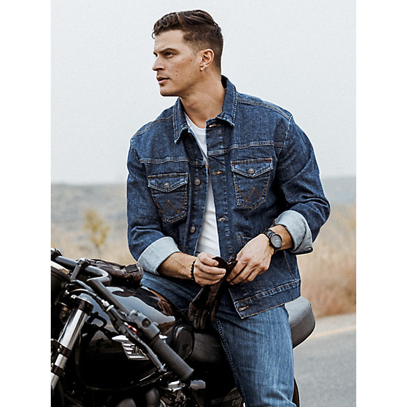 Men's Wrangler Retro® Unlined Western Denim Jacket