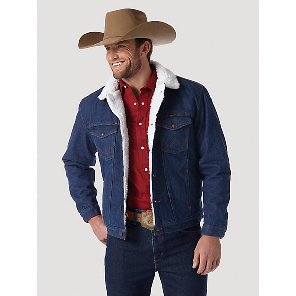 Wrangler® Western Sherpa Lined Denim Jacket