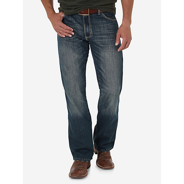 Men's Wrangler Retro® Slim Fit Bootcut Jean (Tall Sizes) | Mens ...