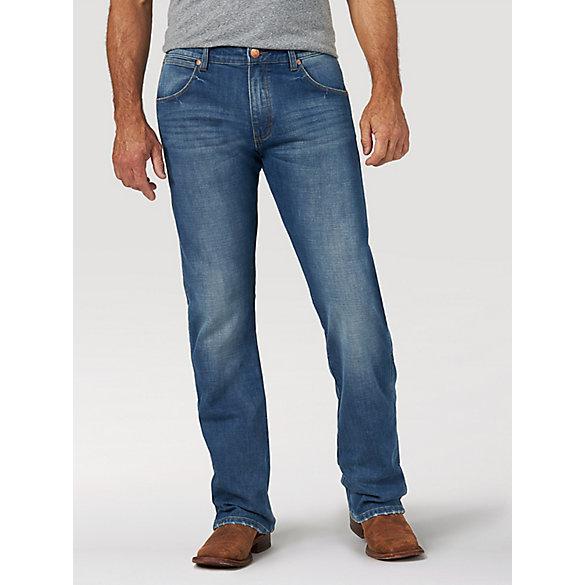 b20aec3f52acb8 Men's Wrangler Retro® Premium Slim Fit Bootcut Jean | Mens Jeans by ...