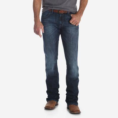 Men S Wrangler Retro 174 Slim Fit Bootcut Jean Mens Jeans