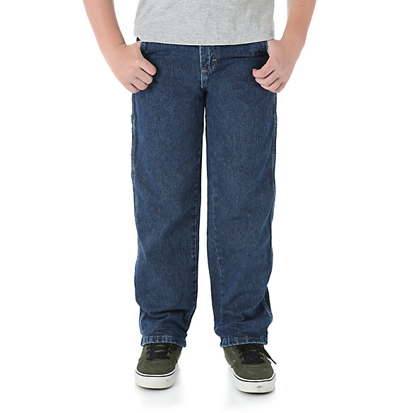 Wrangler® Husky Relaxed Straight Carpenter Jean