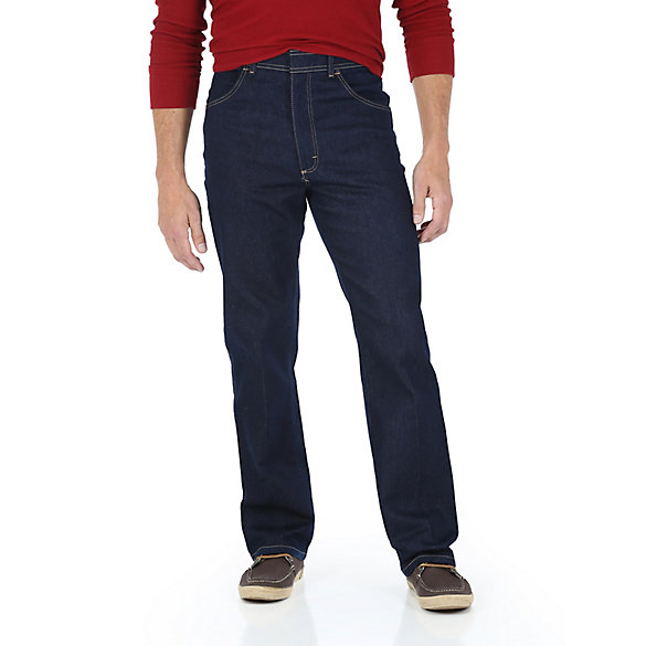 Wrangler® Men's Five Star Premium Regular Flex Fit  Jean