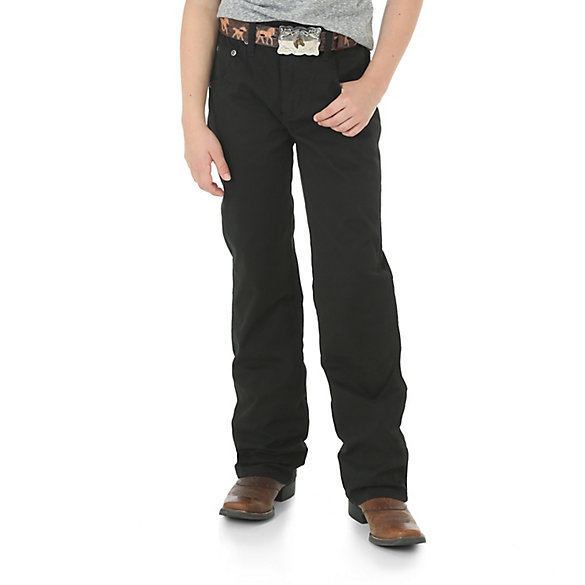 Boy's Wrangler Retro® Slim Fit Straight Leg Pant (4-7)
