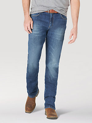 The Wrangler Retro® Green Jean: Men's Slim Straight