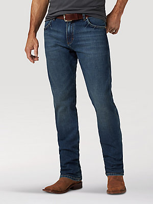 Men's Wrangler Retro® Premium Slim Fit Straight Leg Jean