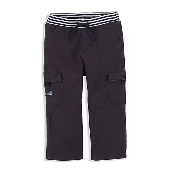 Boy's Cargo Jean with Ribbed Waistband (2T-5T)