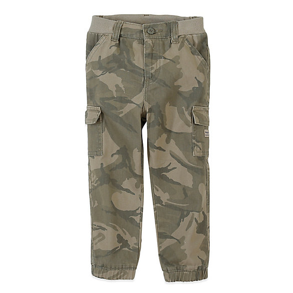 Toddler Boy's Relaxed Cargo Jogger