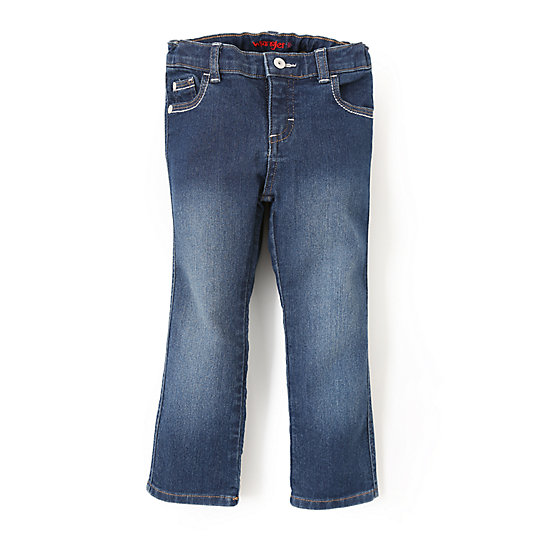 Wrangler® Slim Straight Jean Washed Out Blue - Toddler