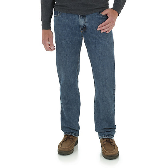 Wrangler® Five Star Premium Denim Straight Fit Jean