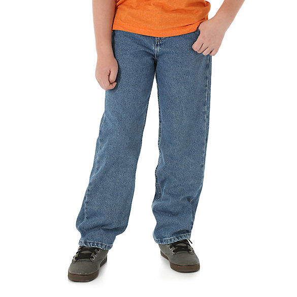 Boy's Wrangler® Five Star Premium Denim Jean (8-16)