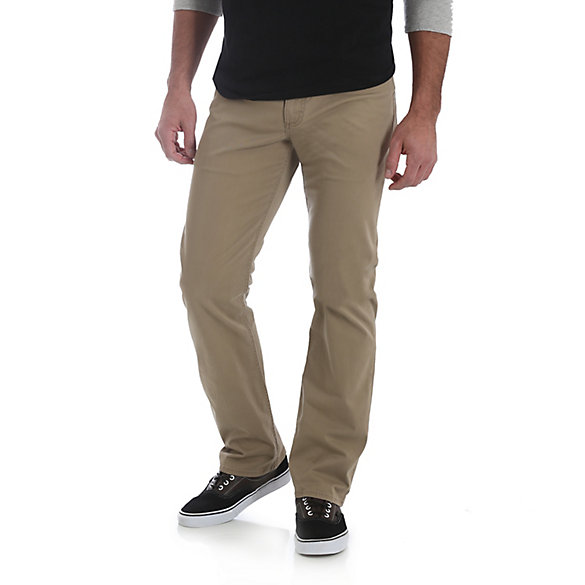 Men's Straight Fit Five Pocket Pant