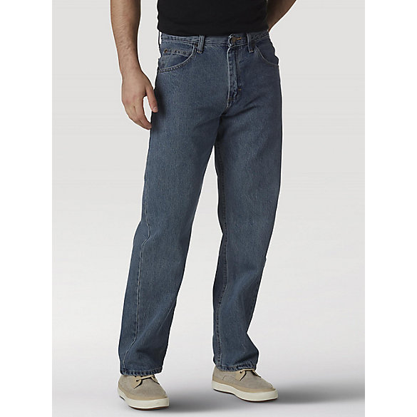 Wrangler® Five Star Premium Denim Relaxed Fit Jean (Big Sizes)